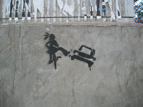 Cluj-Napoca graffito