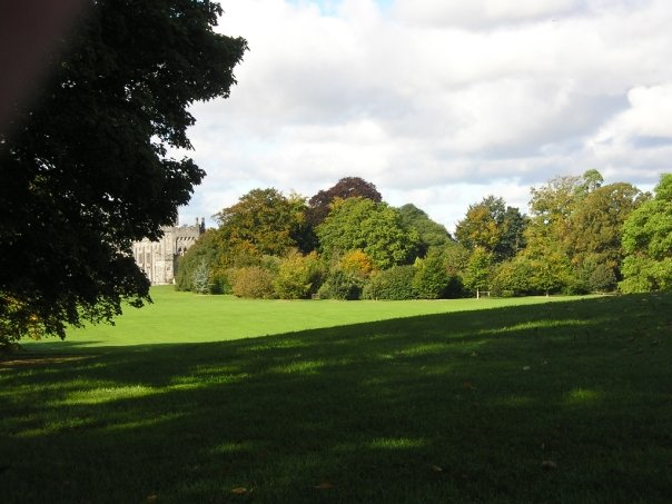 Kilkenny castle park from the southeast